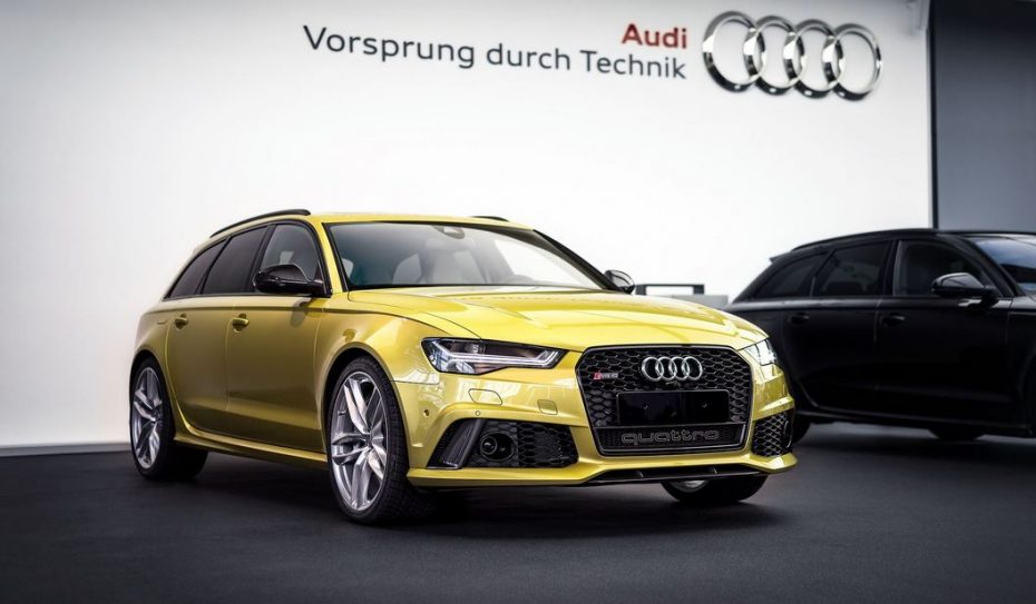 ¿Un Audi RS6 con color de BMW M?: Pues no le queda nada mal el Austin Yellow…