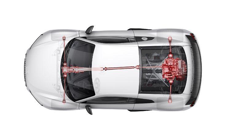 """Nace un """"nuevo quattro®"""": Sistema mecánico de alto rendimiento y distribución variable de par"""