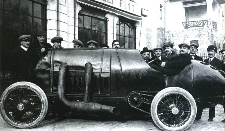 """El motor FIAT del S76 """"La Bestia de Turín"""" con 4 cilindros y sus 28.4 litros es la mecánica de coche más grande que existe"""