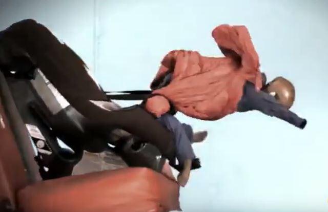 ¡Llevar el abrigo puesto dentro del coche es un peligro!