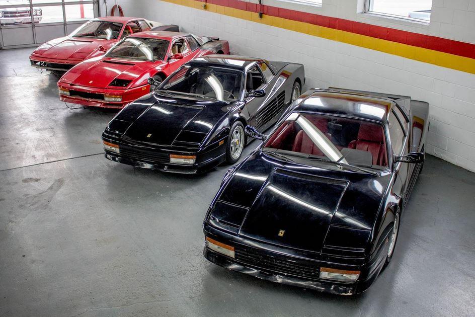 """El """"chollo"""" del año: 4 Ferrari Testarossa por 132.000 euros, aunque hay detalles que tienes que saber…"""