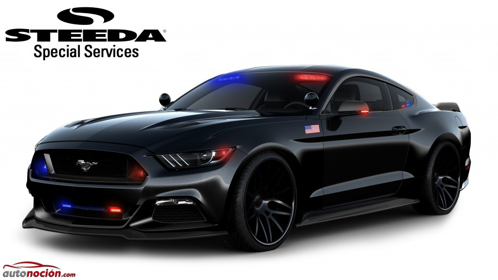 Ford Mustang Police Cars (2)