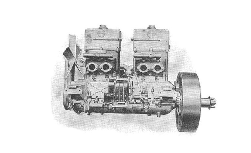 motor de pistones opuestos