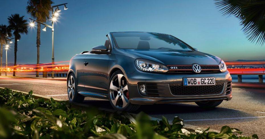 Volkswagen actualiza el Golf GTI Cabriolet pero no de la forma que te esperas…