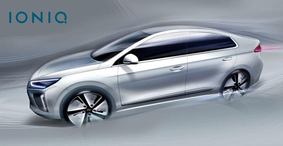 """Hyundai nos muestra un poco más del IONIQ: Llegará en 2016 y será el """"plug-in hybrid"""" de la marca"""