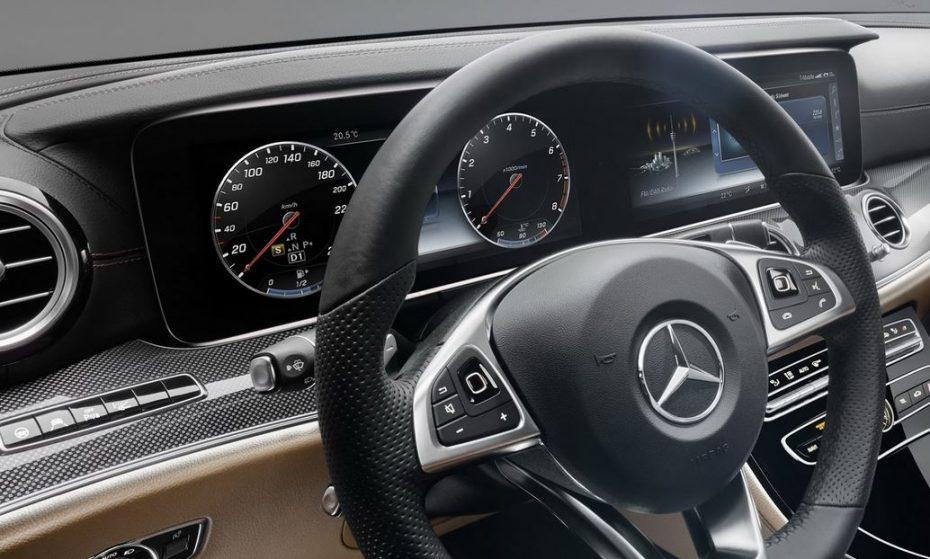 Así es el interior del Mercedes-Benz Clase E 2016: ¿Intentando superar a la Clase S?