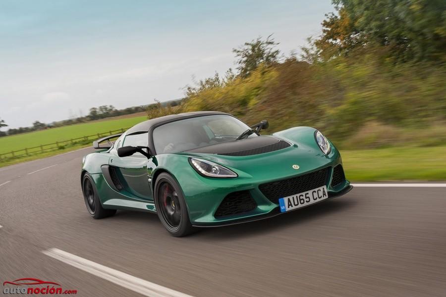 Llega el Lotus Exige Sport 350: la estirpe deportiva de un pequeño con alma de gigante