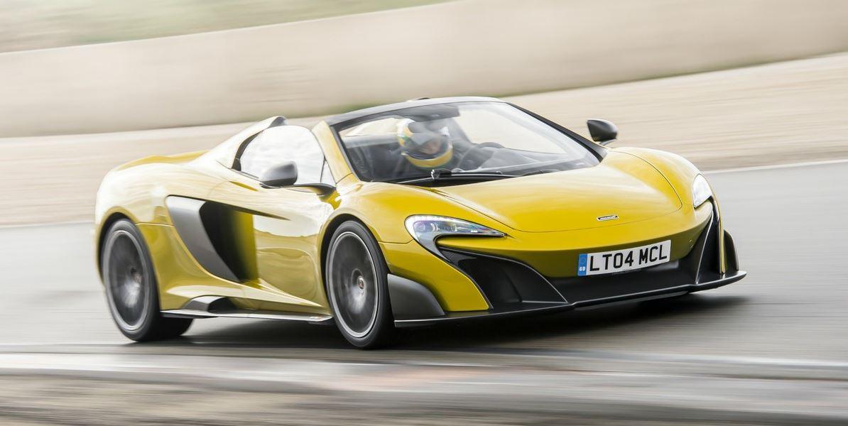 500 unidades desde 394.365 euros y se agotan en 1 mes: La aceptación del McLaren 675LT Spider es impresionante