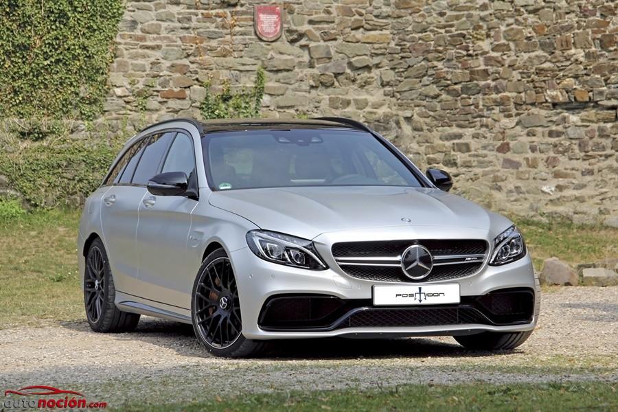 ¡Sobredosis de caballos! Posaidon quiere un Mercedes-AMG C63 S Estate sin complejos