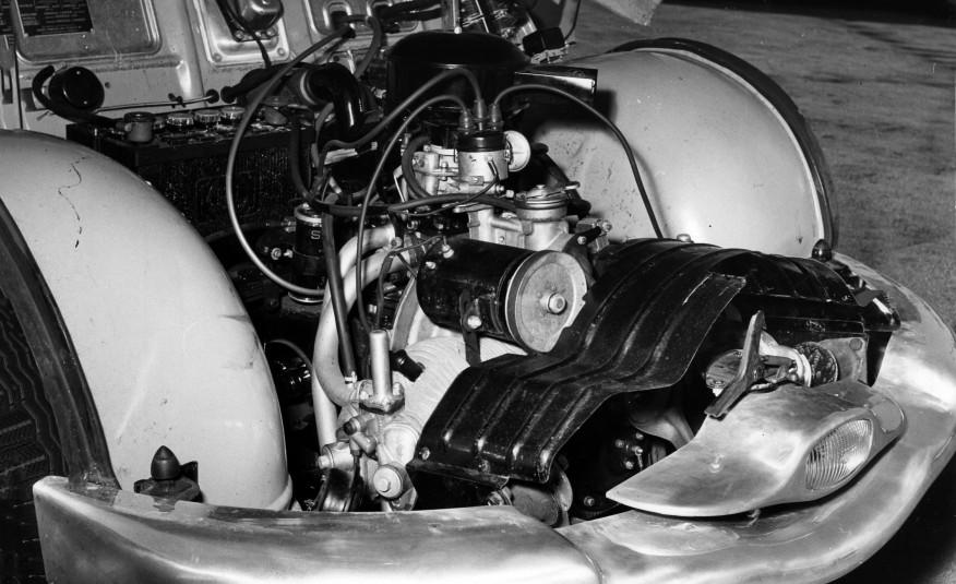 Motor bóxer de Panhard