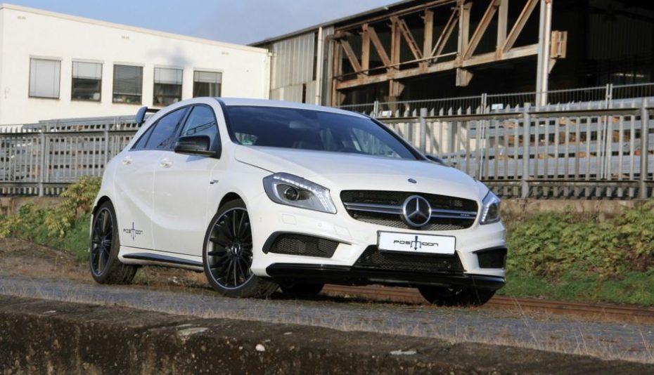 El 2.0 litros turbo de Mercedes-AMG ahora con 485 CV y los 555 Nm: El A45 ya es un misil