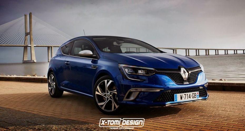 Imaginándonos al nuevo Renault Mégane Coupé GT…