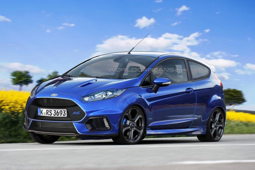 Render Ford Fiesta RS