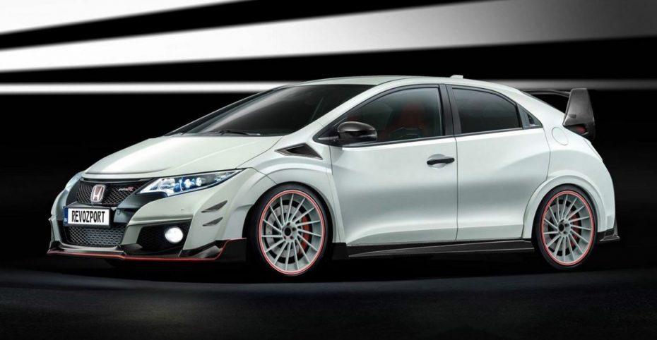 RevoZport apuesta por el Honda Civic Type R y radicaliza su estética