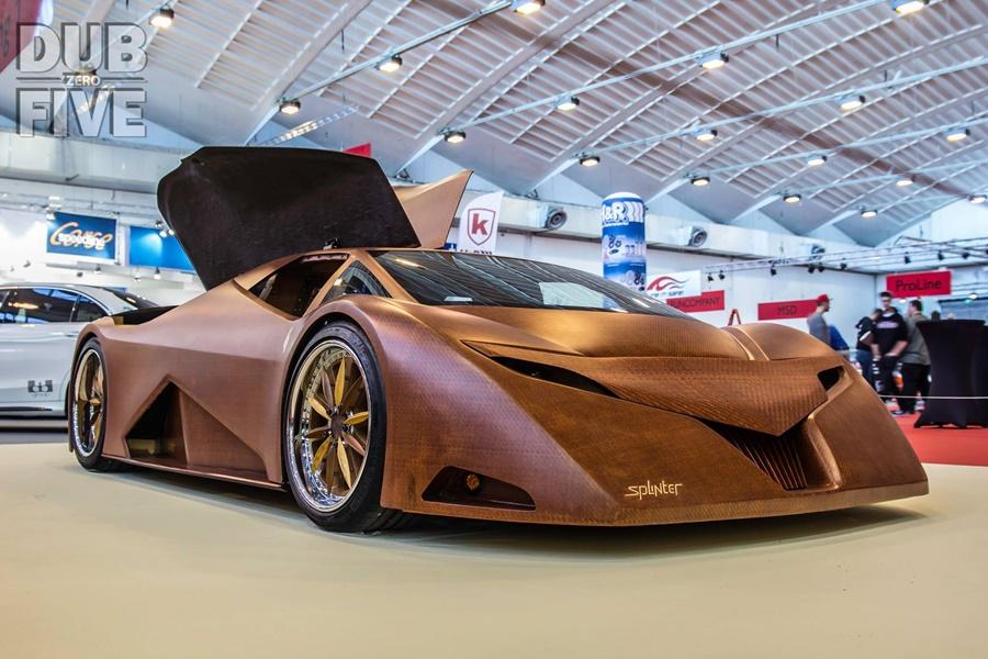 Splinter: El superdeportivo de madera que esconde una bomba V8 bajo el capó