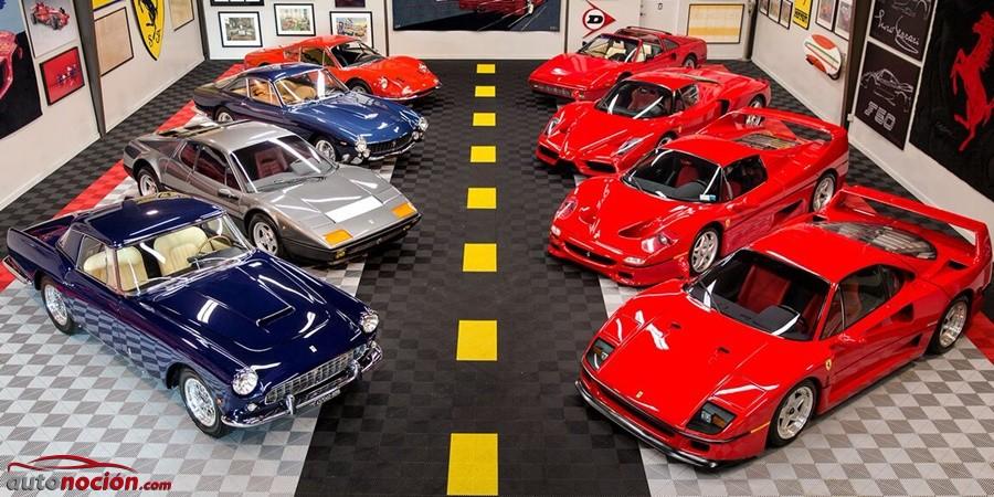 """Todos los Ferrari que seguramente quieres por """"sólo"""" 11 millones de dólares…"""