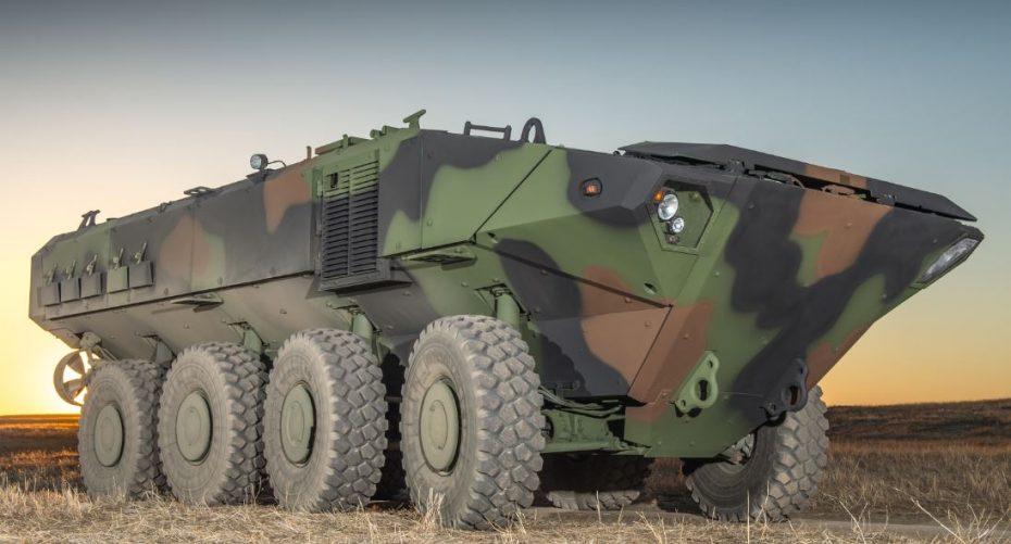 Este el ACV 1.1, el nuevo 8×8 anfibio de 700 CV que emplearán los Marines