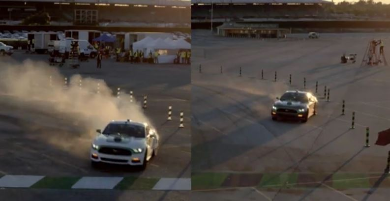 Post Patrocinado: Castrol enfrenta en #VirtualRacers a Matt Powers y al ex-Stig Ben Collins con el Ford Mustang V8