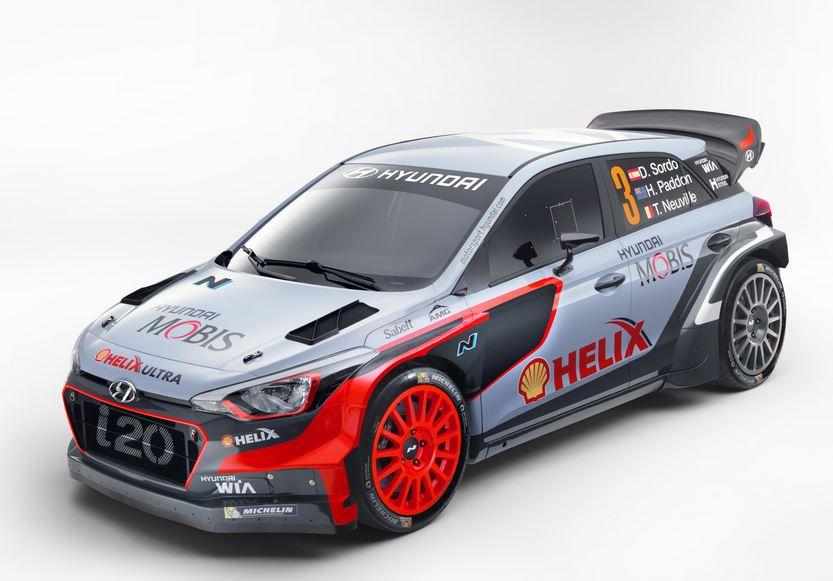 Así es el i20 WRC con el que Hyundai Motorsport correrá en el WRC 2016