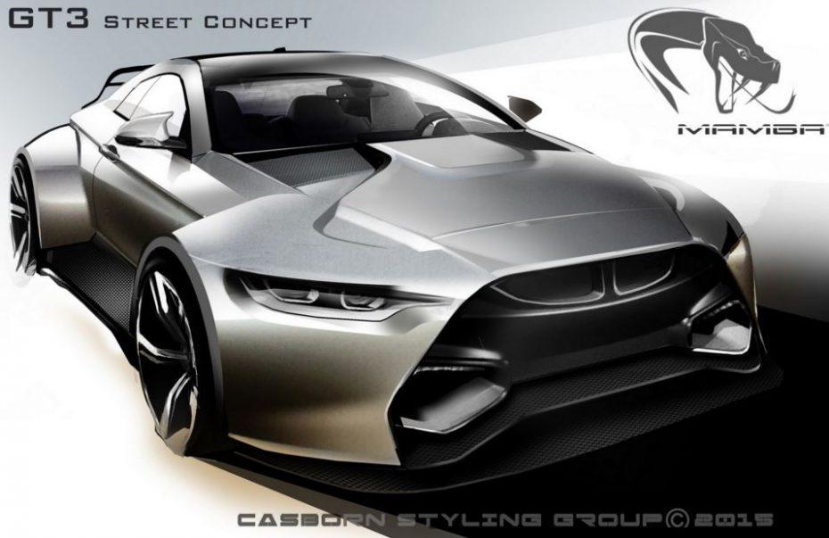 MAMBA GT3 Street Concept: La preparación más salvaje del BMW M4 Coupé llegará en 2016