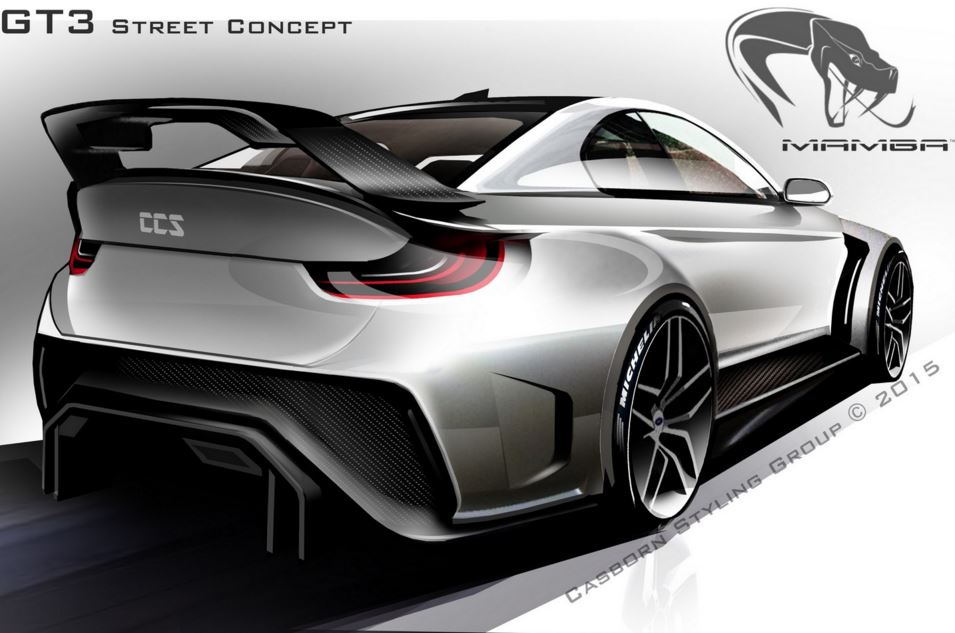mamba GT3 street concept 2