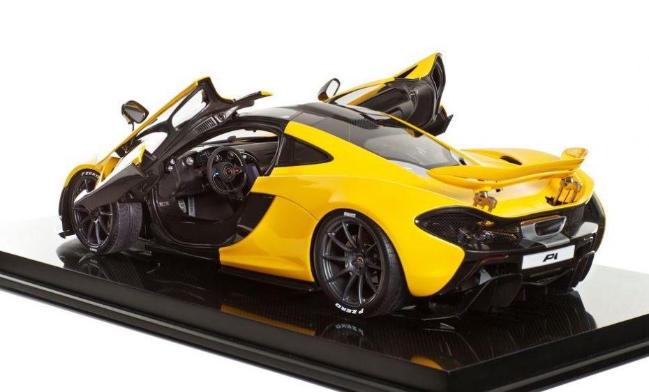 Si quieres un McLaren P1 siempre puedes comprarte esta miniatura a escala 1:8 por 11.000 euros
