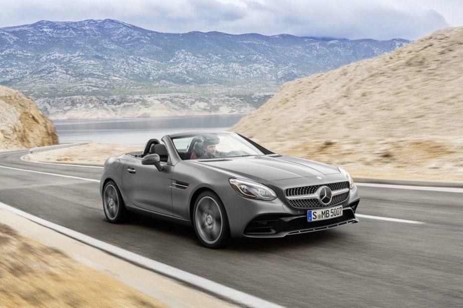 Arranca la comercialización del Mercedes SLC: Desde 45.250 € con 184 CV