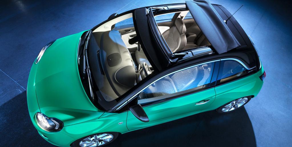 """Ya puedes comprar el Opel Adam """"normal"""" con techo de lona: Opcional en dos acabados"""
