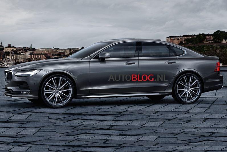 ¡Filtrado!: Así es el nuevo Volvo S90, la berlina sueca que atacará a los alemanes…