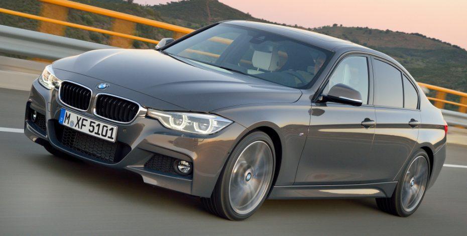 Ventas noviembre 2015, Alemania: El Serie 3 de BMW recupera posiciones