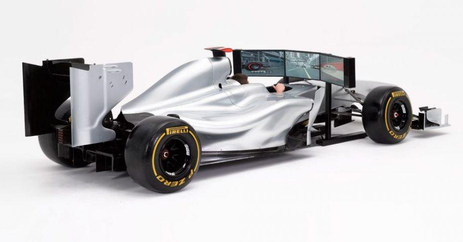 Ojo a este F1: Vale, es un simulador de unos 127.000 euros, pero vaya detalles…