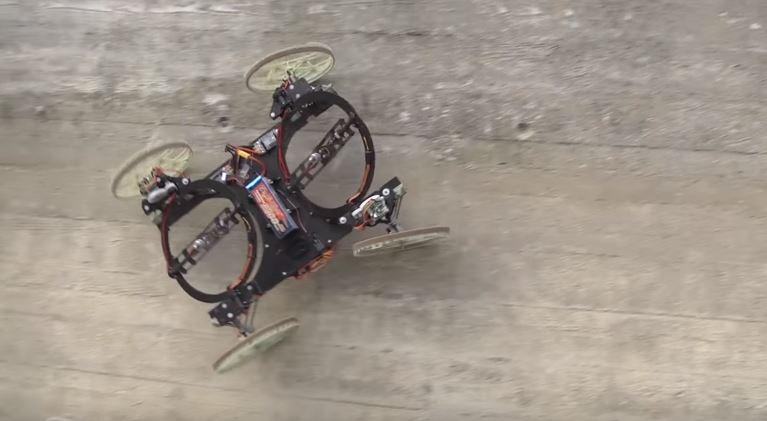 VertiGo, el prototipo robótico de Disney que es capaz de circular por las paredes