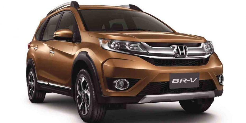 Así es el nuevo Honda BR-V: Un crossover con siete asientos para países emergentes