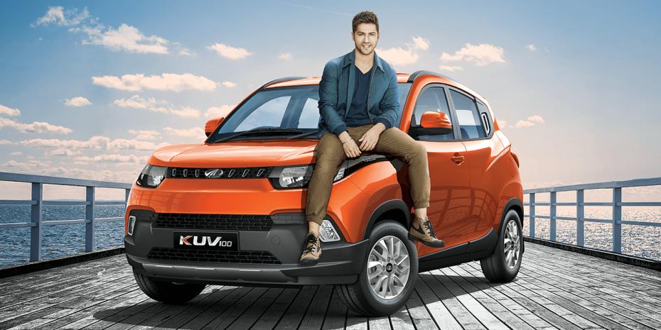 Así es el extraño Mahindra KUV100: Un crossover de 3,7 metros y bajo precio