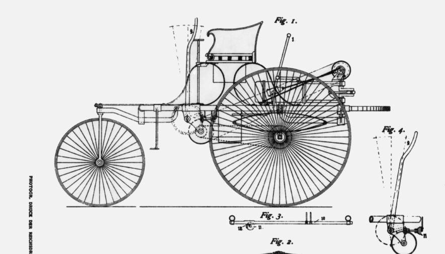 Este mismo mes de enero se cumplen 130 años del nacimiento del automóvil