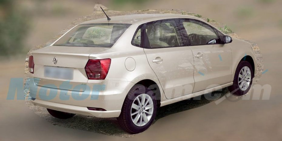 Cazado el nuevo Volkswagen Ameo sin camuflaje: Se presentará el mes que vienen en la India