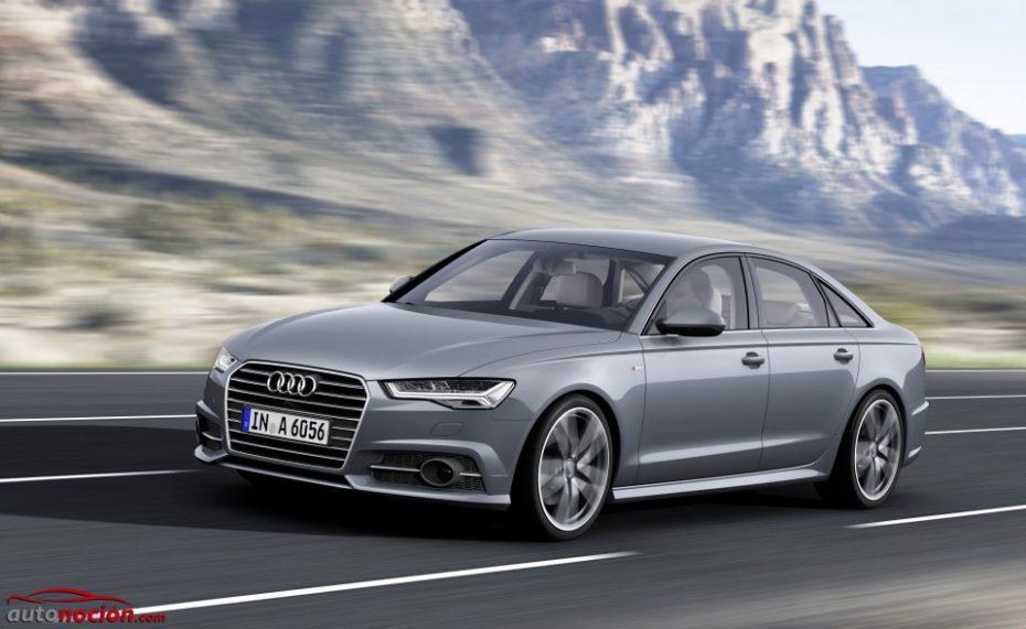 El Audi A6 mejora de cara a 2016: Nueva motorización y más equipamiento para la berlina