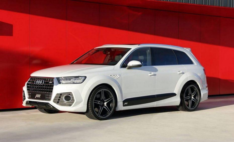 ABT radicaliza el Audi Q7: Más de 400 CV para el imponente SUV alemán