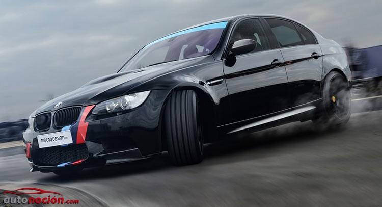El rey de la pista: MR Car Design exprime el poderoso bloque V8 del BMW M3 E90