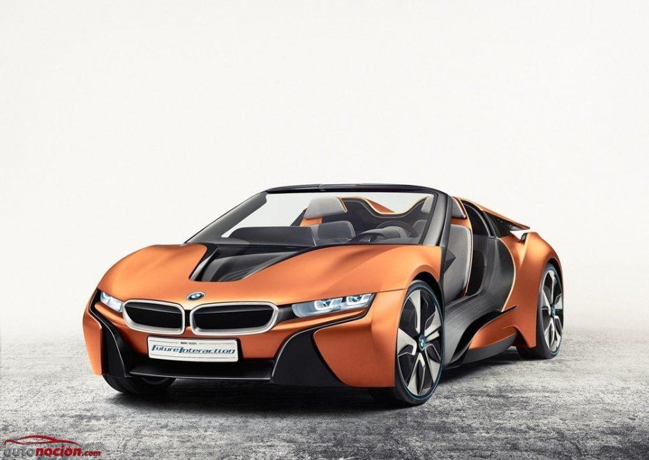 BMW i Vision Future Interaction Concept: No es el i8 Spyder, es el i8 más tecnológico que hayas visto jamás