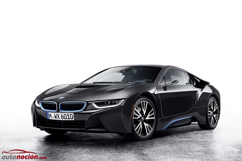 BMW i8 Mirrorless Concept: Olvídate de los clásicos retrovisores ¡El futuro es digital!