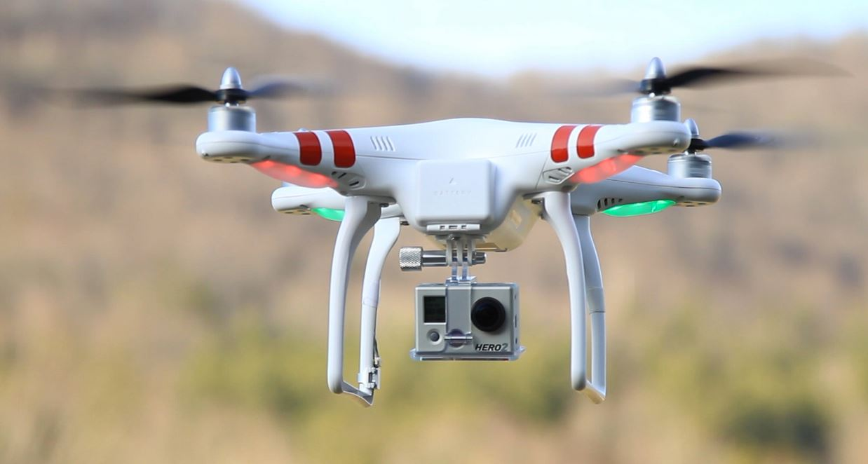 Dron DIJ