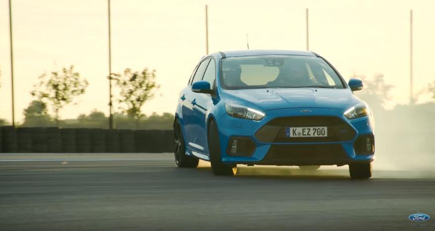 El Focus RS está en Valencia y el mismo Ben Collins nos explica sus impresionantes modos de conducción