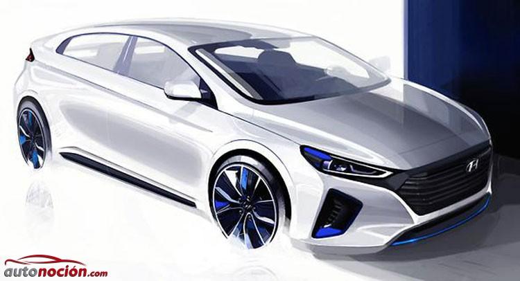 """Hyundai IONIQ: la marca revela nuevas imágenes de su """"plug-in hybrid"""" antes de su debut en Corea"""