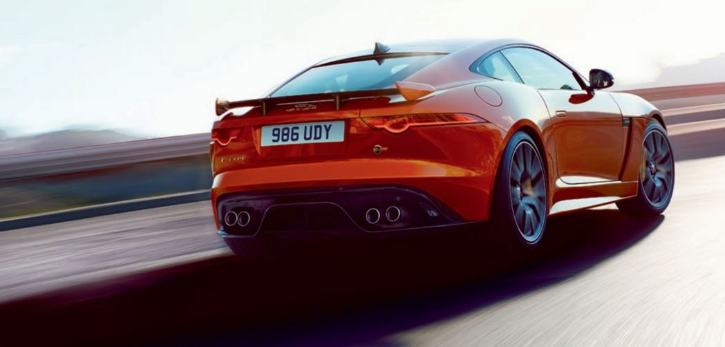 Jaguar F Type SVR 8