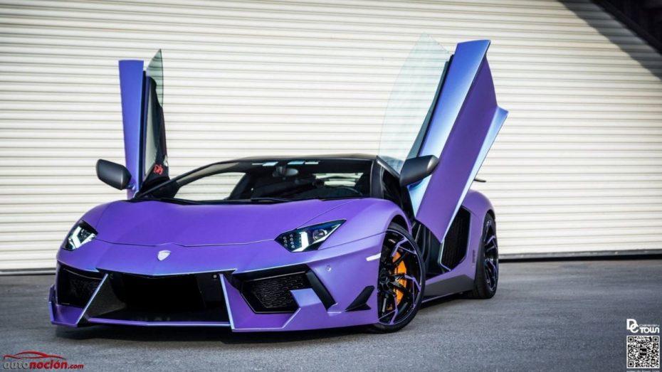 ¿Recordáis el Lamborghini Aventador Dragon Edition? DMC lo puede hacer todavía más salvaje y llamativo