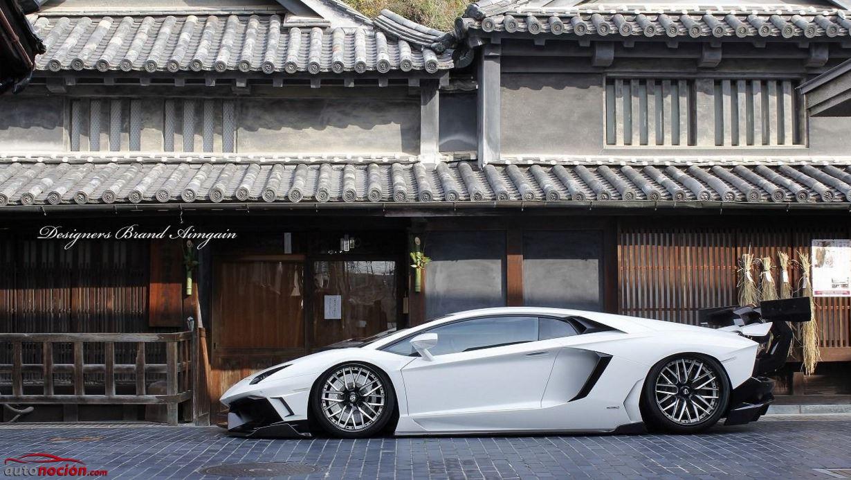 Lamborghini Aventador por Aimgain (3)