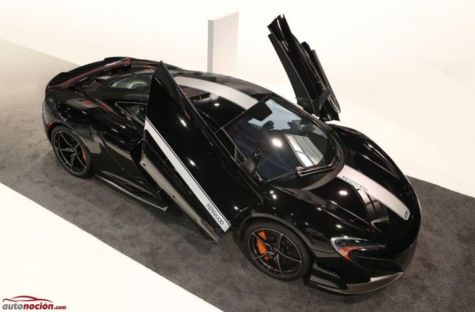 McLaren 675LT JVCKENWOOD: Ojalá todas las bodas de plata tuvieran un regalo como este