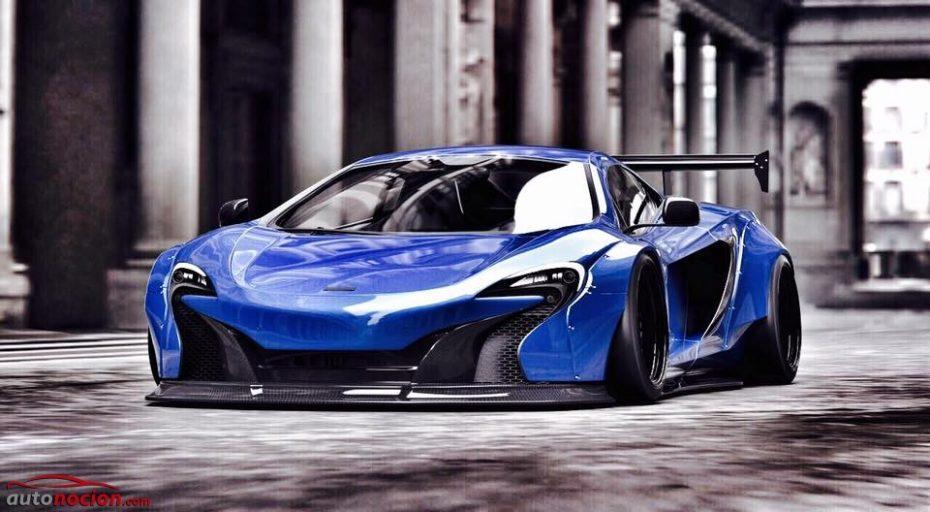Estás ante el McLaren 650S más salvaje jamás creado: Solo con verlo, ¿adivinas quién es su creador?