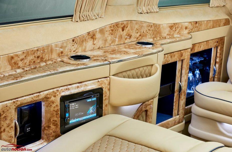 Si esta Mercedes-Benz Clase V de Larte Design volara, sería un auténtico jet privado